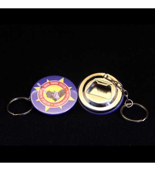 44mm Bottle Opener Keyring Components (Bag's of 50)
