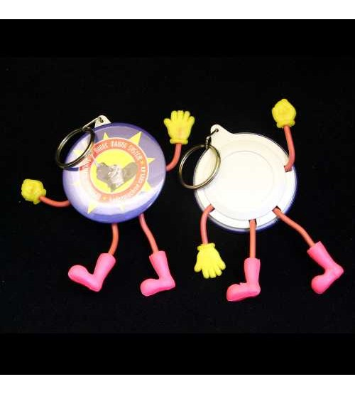 58mm Cartoon Keyring Components (Bag's of 50)