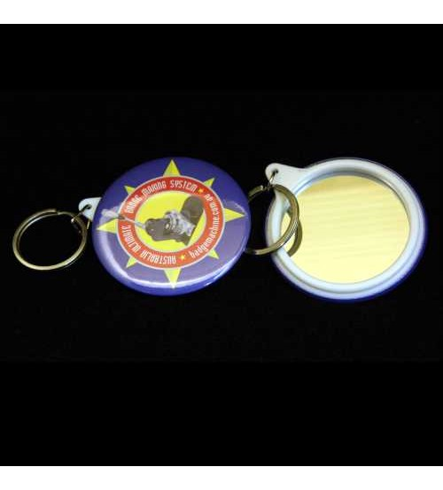 58mm Mirror Keyring Components (Bag's of 50)