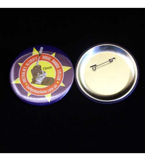 75mm Pin Badge Components (Bag's of 100)