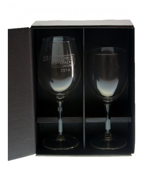 Two Wine Glass Gift Box 2WG-L
