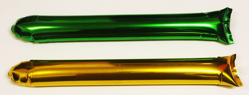 green-gold-metallic-foil-inflatable-cheering-sticks-bam-bam-thunder-abc2000