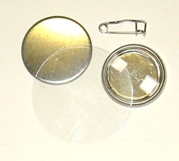 Spare sets of Components to produce button badges